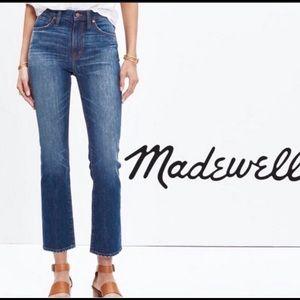 "Madewell 10"" high rise Demi boot"
